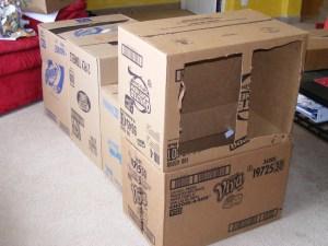Fire Truck Cardboard