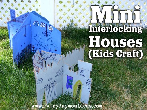 mini interlocking house