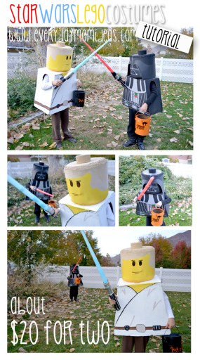 star wars lego costume