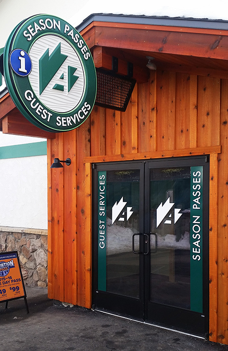 Arapahoe Basin Ticket Doors