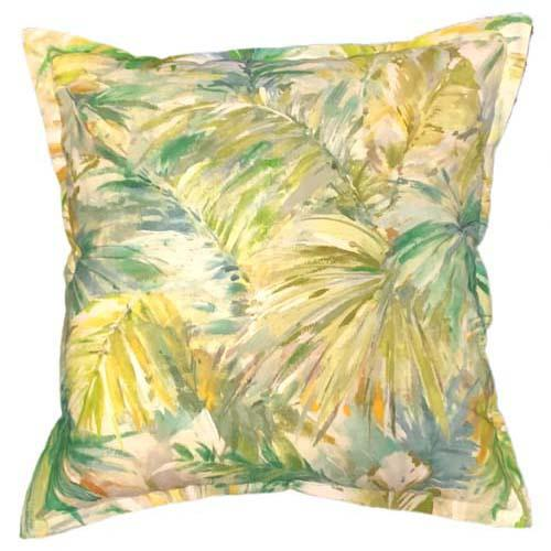 Forest Lime scatter cushion