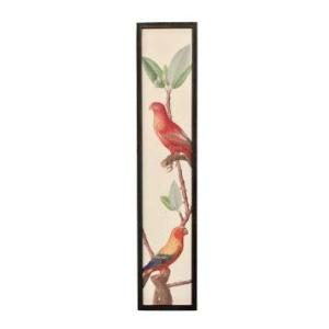 Red Bird Framed Picture
