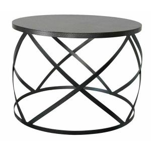 X Coffee Wire Table in Black