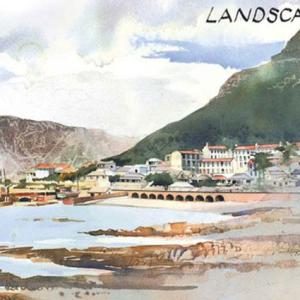 Kalk Bay Watercolor | Paintings of Cape Town
