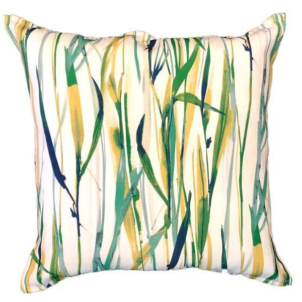 Indigo Reeds Scatter Cushion