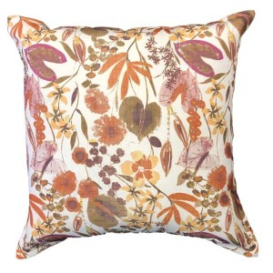 Burnt Botanical Cushion