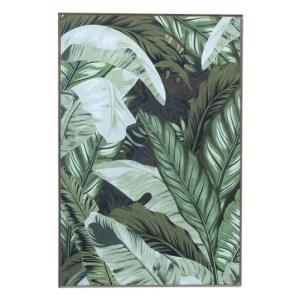Green Plantation Framed Picture