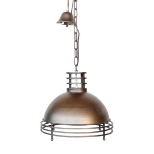 SOLID METAL WITH RINGS | Hanging Pendant Lights