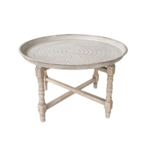 ROUND MORROCAN TEA TABLE