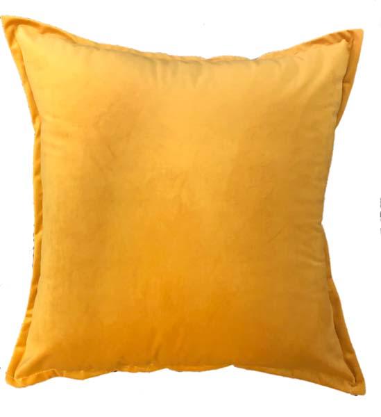 Amber Velvet Scatter Cushion