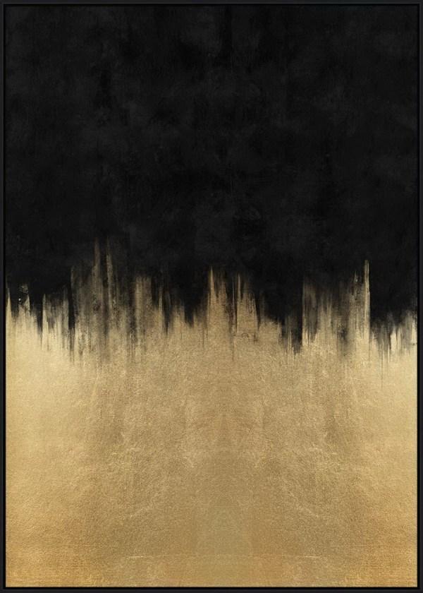 Gold Rush Art -Black