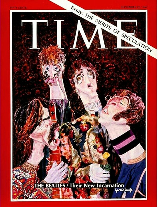 Beatles:TimeMagazine1967:Cover