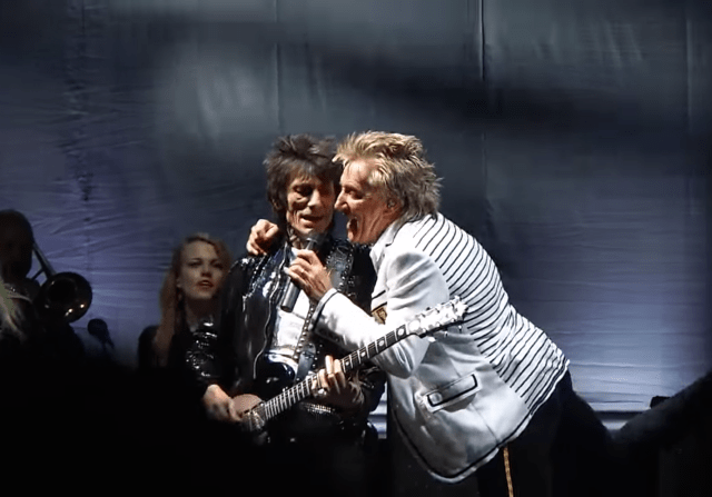 #Post • ROD STEWART & FACES: First Reunion in 40 Years [VIDEO] /