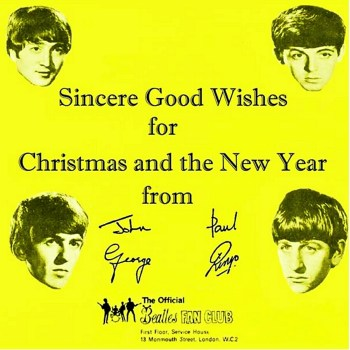 Beatles:ChristmasRecord:1963:Sleeve:Front