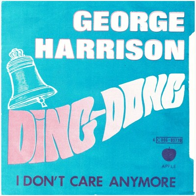 Beatles:GeorgeHarrison:45:DingDong:Sleeve:Front