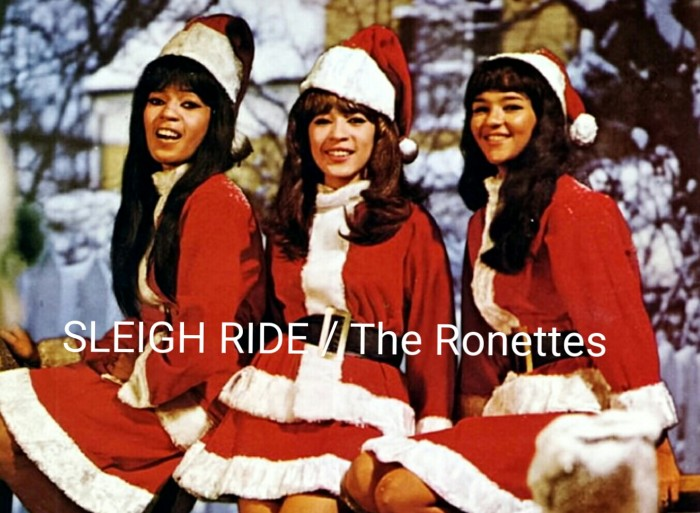 #OriginalPresentation • PHIL SPECTOR'S CHRISTMAS ALBUM / Track #5: 'Sleigh Ride' by The Ronettes in HD STEREO + SPECTOR INTERVIEW! /