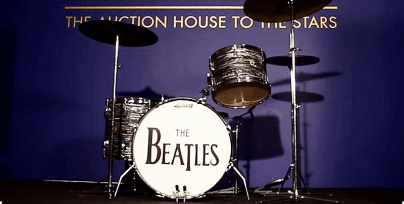 #Post • RINGO STARR: Original Drum Kit Sold to Indy Colt's NFL Owner! /