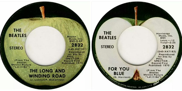 Beatles:45:TheLongAndWIndingRoad:ForYouBlue:Combo