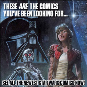 See all the newest Star Wars comics now!