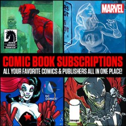 Learn more about comic book subscriptions at TFAW.com