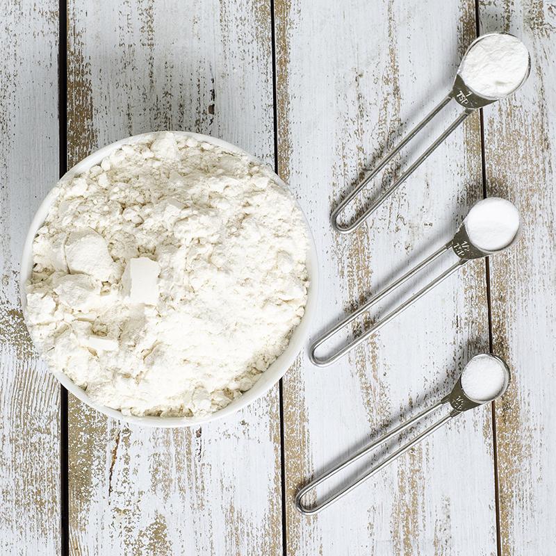 Slik lager du self raising flour