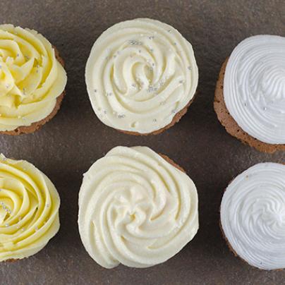 Tre typer frosting til cupcakes - hvilken er din favoritt?