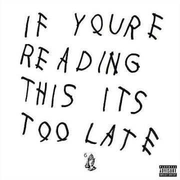 Drake ‎– If You're Reading This It's Too Late vinyl
