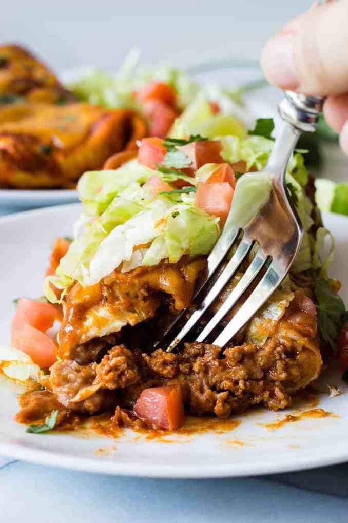 Smothered Burrito - House of Yumm