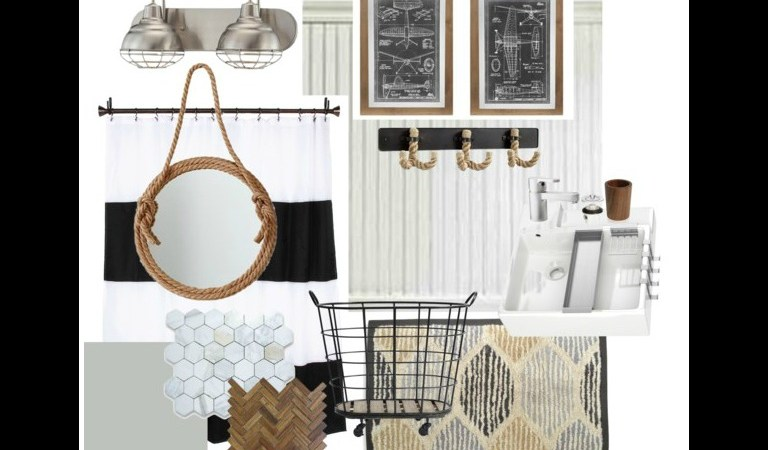 Guest Bathroom – Inspiration Board