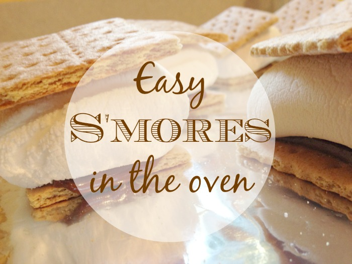 Easy Smores in the Oven