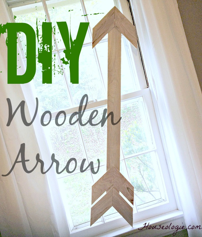 Wood Arrow