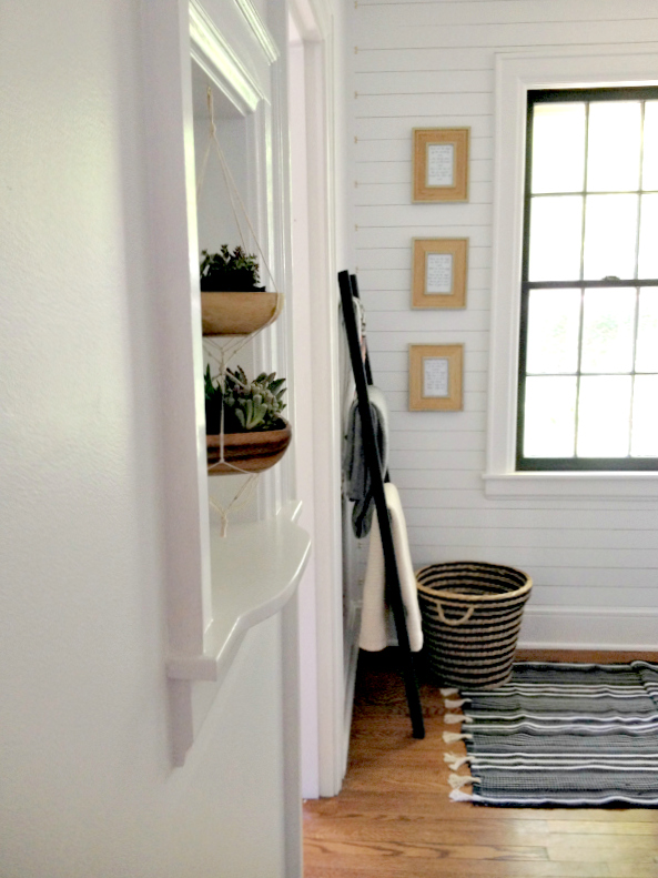 Hallway Makeover Reveal 2