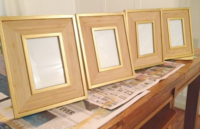 Picture Frame Makeover – Take 2