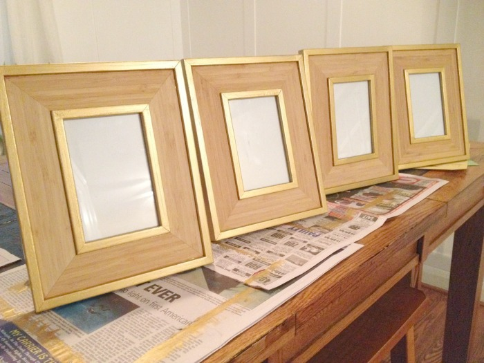Picture Frame Makeover After