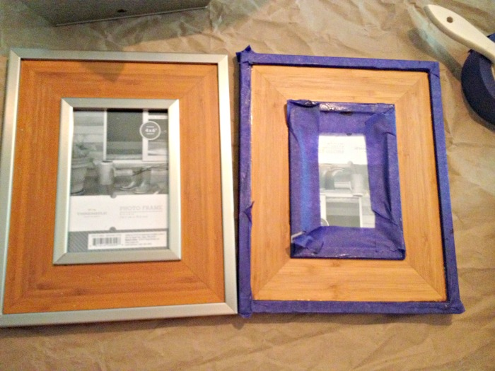 Picture frame makeover 1
