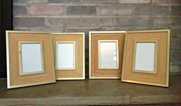 picture frame makeover fixed