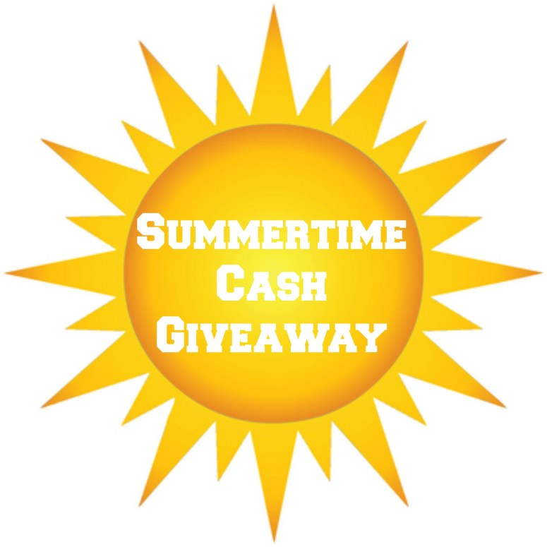 summertime cash giveaway graphic