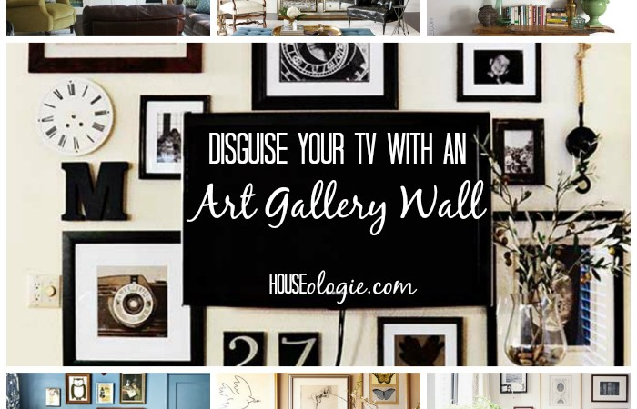 TV Gallery Wall Inspiration