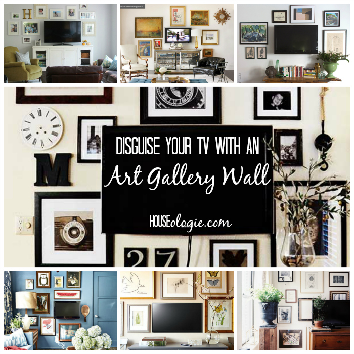 Art Gallery Wall Collage
