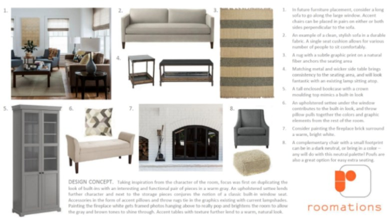 Roomations Style Board