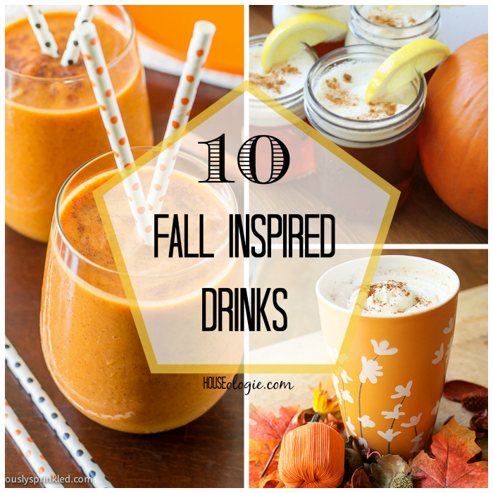 10 Fall Drinks - Inspired by All things Autumn