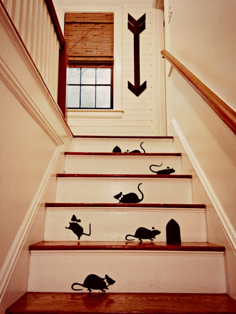 Mice on the Stairs 3