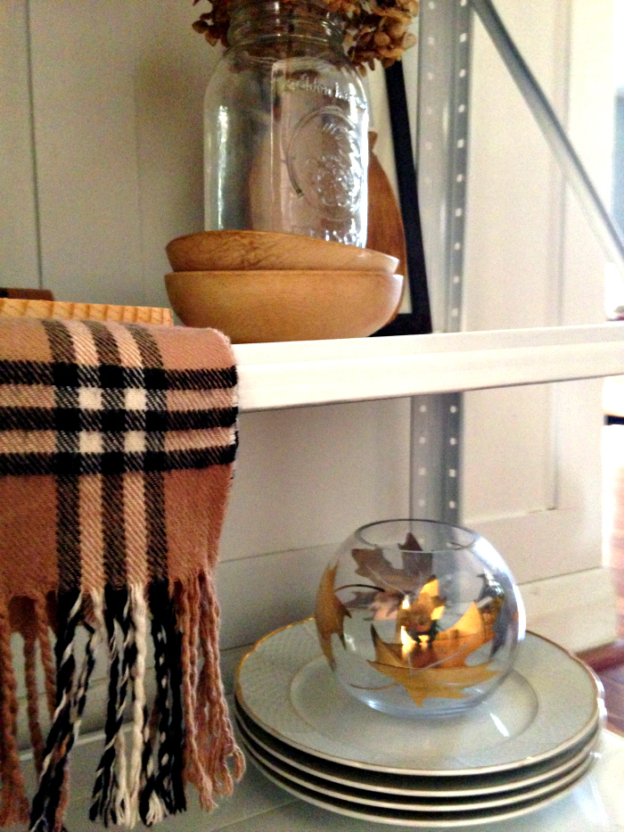 Metal Dining Room Shelf