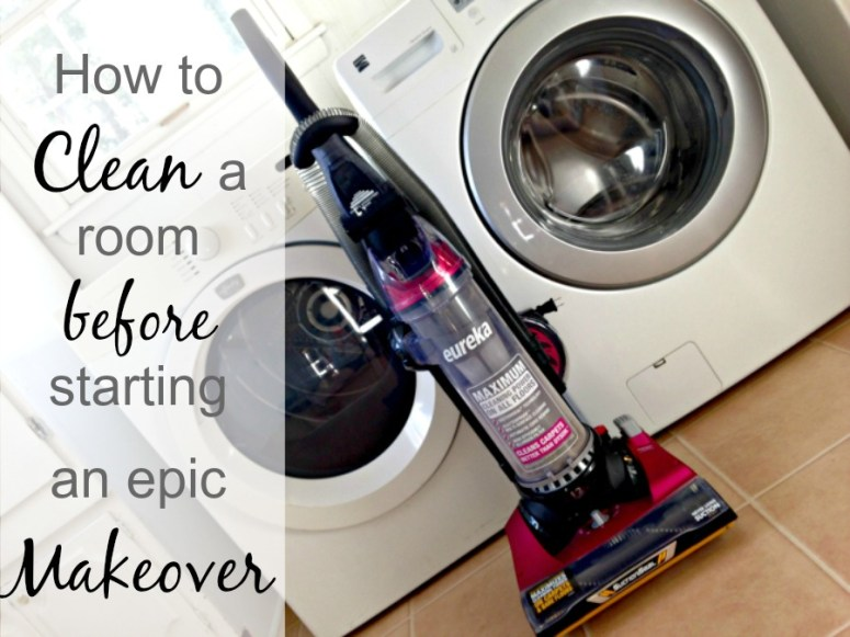 Cleaning with Eureka 1