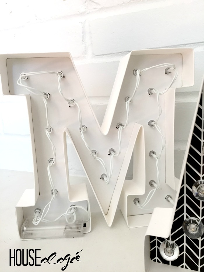 Easy Marquee Letters 3