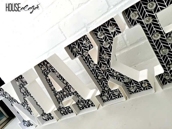 Easy Marquee Letters 5