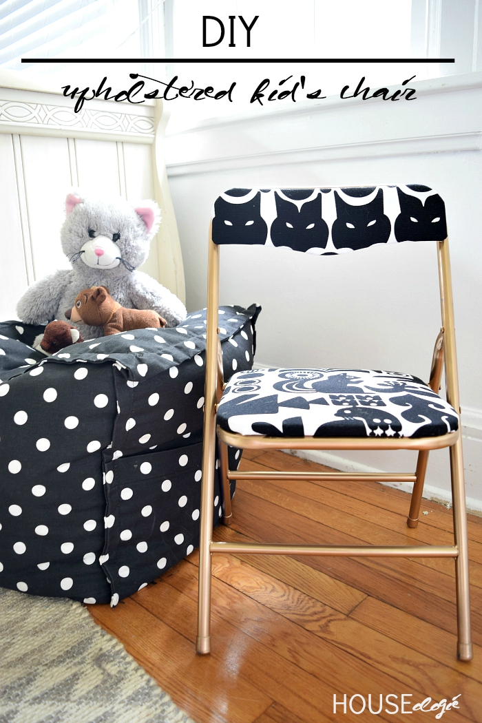 DIY Kids Chair Makeover 2