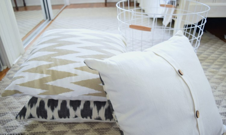 Pillows + Giveaway