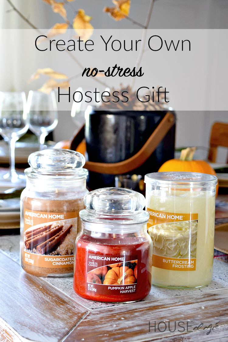American Home Yankee Candle Hostess gift Basket
