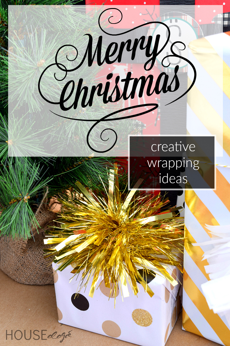 Ideas for Gift Wrapping Merry Christmas